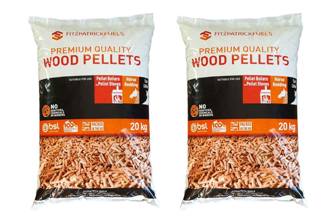 Biomass Wood Pellets For Stoves And Boilers By Fitzpatrick
